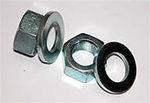 9/16x18 Thread Pitch Nut and Washer Kit (set of 8) by Explorer Pro Comp
