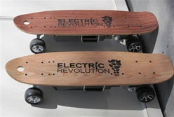 EREV Bandit 600 Street Series Motorized Skate Board by Electric Revolution