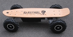 EREV Silverback 800 Offroad Series Motorized electric skateboard by Electric Revolution