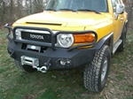 FJ Replacement Winch Mount Ready Bumper w/ Grill Guard by Fab Fours