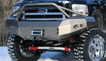 05-07 Ford Super Duty Winch Bumper w/ Pre-runner Grill Guard by Fab Fours