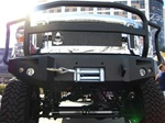 2008 Ford Super Duty w/ Full Grill Guard by Fab Fours