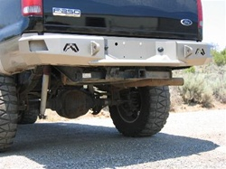 99-08 Ford Super Duty Rear Bumper Bare by Fab Fours