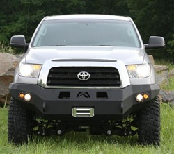 2007 - 2008 Toyota Tundra Winch Bumper w/ No Grill Guard by Fab Fours