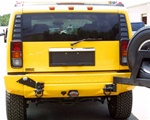 HUMMER H2 License Plate Hatch Handle and Pocket - Rear Replacement, GM-15135442