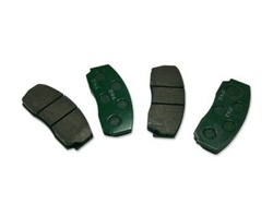 2006-2008 Hummer H3 Front Brake Pads (set) by GM