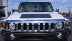 GM, Chrome, Front, Upper, Grill, 06, Hummer, H3, 2006