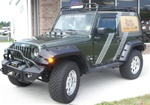 Jeep Wrangler JK 2 Door Stealth Gobi Roof Rack