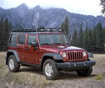 Jeep Wrangler JK 4 Door Stealth Gobi Roof Rack