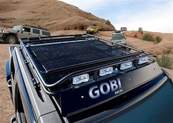 Hummer H3T Stealth Roof Rack by Gobi