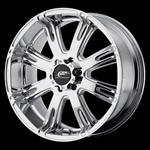 "Hummer H1 20"" x 9 Chrome Hummer Wheel"