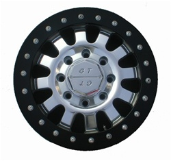 "Hummer H1 17"" 12 Spoke Aluminum Wheel by G.T. Inc."