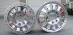 "Hummer H2/SUT 17"" 12 Spoke Aluminum Wheel by G.T. Inc."