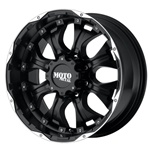 "Hummer H1 20"" x 9 Moto Metal Black 959 Hummer Wheel"
