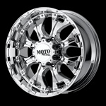 "Hummer H1 20"" x 9 Moto Metal Chrome 959 Hummer Wheel"