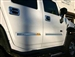 Hummer, H2, Chrome, trim, door, outer, accessories, HiTech, ball, rivet, smooth