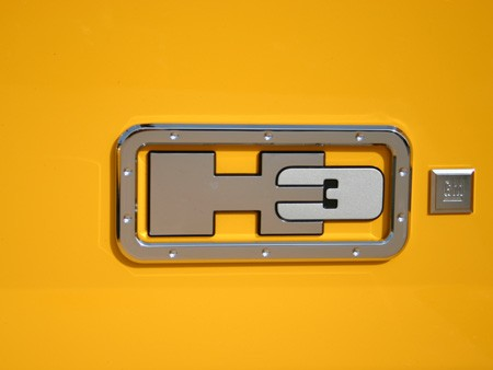 hummer h3 logo surround set 3 pcs by hitech