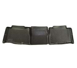 CLASSIC STYLE™ SERIES,2005, Hummer, H2, 2ND, SEAT, FLOOR, LINER, Part #61451, Color: BLACK