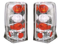 02-06 Escalade Euro Tail Lamps Crystal Clear by IPCW