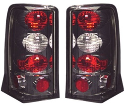 02-06 Escalade Euro Tail Lamps Platinum Smoke by IPCW