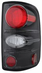 04-07 F150 Styleside Tail Lamps Bermuda Black by IPCW
