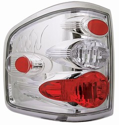 04-07 F150/F250 LD Flareside Crystal Clear Tail Lamps by IPCW