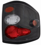 04-07 F150/F250 LD Flareside Bermuda Black Tail Lamps by IPCW