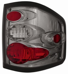04-07 F150/F250 LD Flareside Platinum Smoke Tail Lamps by IPCW