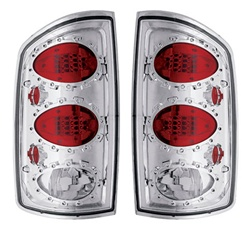 02-06 Ram L.E.D. Tail Lamps Crystal Clear by IPCW