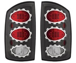 02-06 Ram L.E.D. Tail Lamps Bermuda Black by IPCW