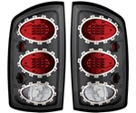 02-06 Ram L.E.D. Tail Lamps Carbon Fiber by IPCW