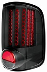 04-07 F150 Styleside L.E.D. Tail Lamps Bermuda Black by IPCW