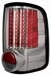 04-07 F150 Styleside L.E.D. Tail Lamps Platinum Smoke by IPCW