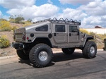 "Hummer H1 6"" suspension lift kit by J. Auston Fabrication"