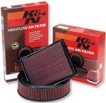 Air Filter: 2004-2008 Nissan Titan by K&N
