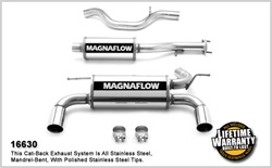 Hummer H3 Magnaflow Cat-Back Exhaust - Inline 5