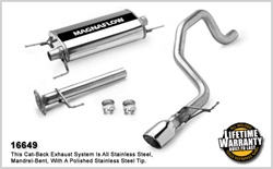 FJ Cruiser Magnaflow Cat Back Exhaust