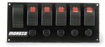 Moroso 6 Way Rocker Switch Panel by Moroso