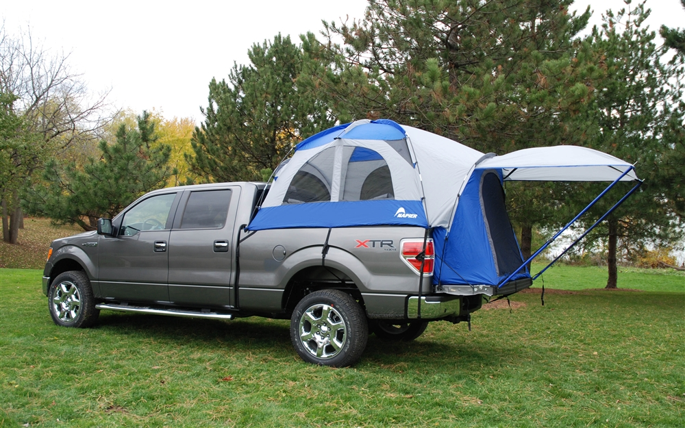 sportz truck tent iii package mid size truck short bed. Black Bedroom Furniture Sets. Home Design Ideas