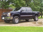 N-Fab's Wheel-to-Wheel Nerf Steps for '07-'09 Chevy/GMC C2500HD/3500HD Crew Cab 8 Lug 6.5' Bed