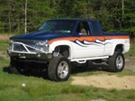 N-Fab's Wheel-to-Wheel Nerf Steps for '88-'98 Chevy/GMC C1500/C2500 Regular Cab Long Bed