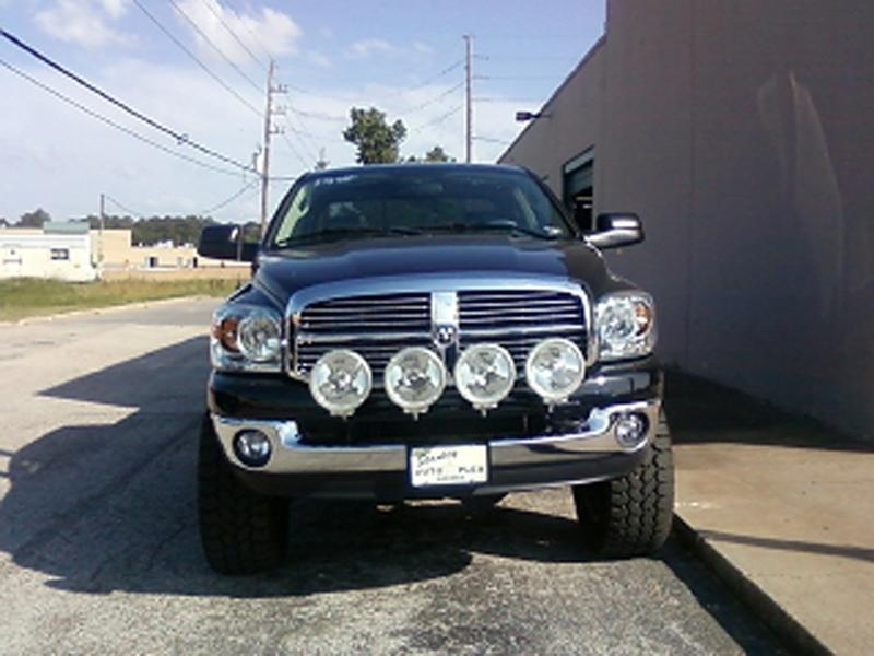 Dodge ram 02 07 150025003500 front n fab light bar mozeypictures Image collections