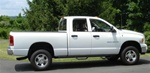 N-Fab's Wheel-to-Wheel Nerf Steps for '02-'08 Dodge Ram Regular Cab 4 Door Long Bed