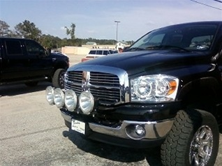 04 11 dodge ram 25003500 light bar by n fab aloadofball Image collections