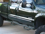 N-Fab's Wheel-to-Wheel Nerf Steps for '80-'96 Ford F250/F350 Extended Cab Long Bed