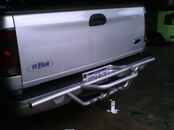 N-Fab Rear-Runner for '99-'03 Ford F-150 Regular and Crew Cab