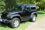 N-Fab's Wheel-to-Wheel Nerf Steps for '07-'09 Jeep Wrangler 2 Door JK  ***Standard Textured Black***
