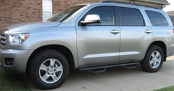 N-Fab's Wheel-to-Wheel Nerf Steps for '08-'10 Toyota Sequoia