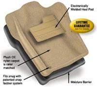 Nifty Catch-All Black Front Floor Mat for07 Wrangler