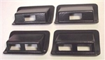 Aluminum Light Switch Bezel Set- Black PM-H1-INT-293